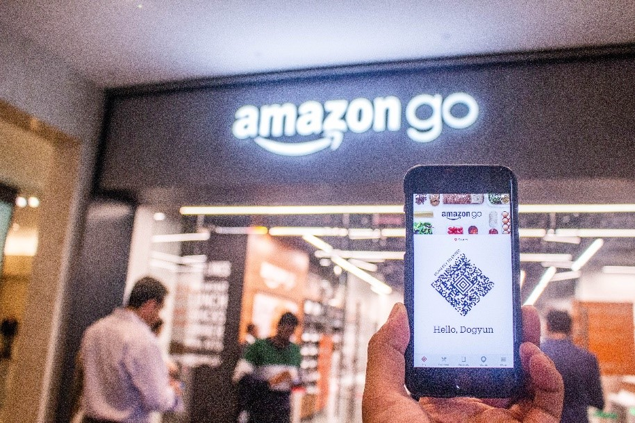 Invisible payments - Amazon GO