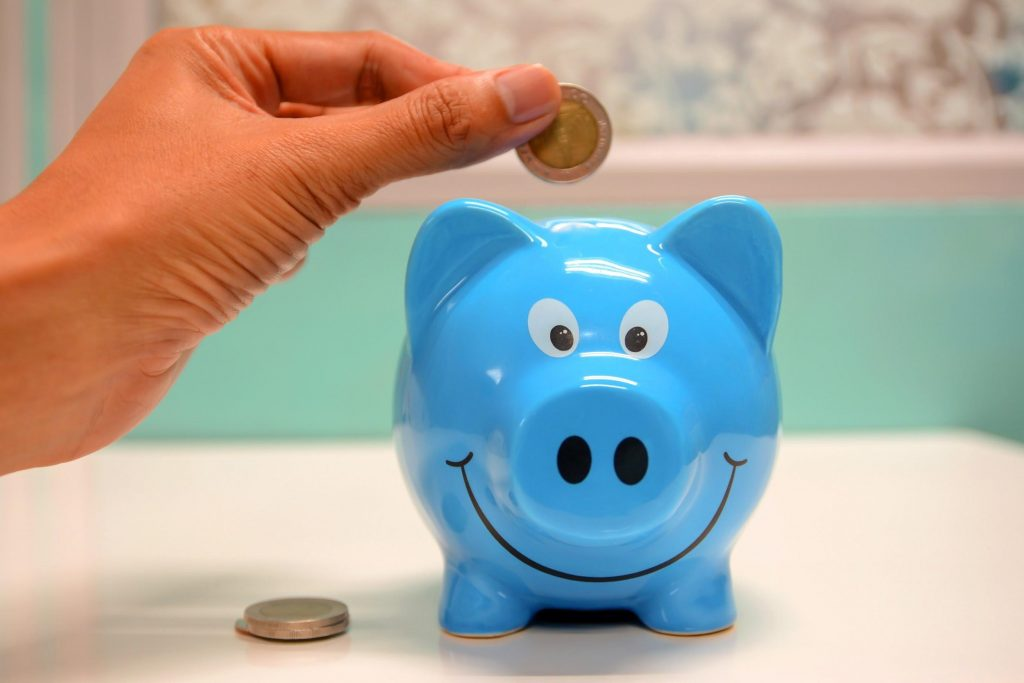 An old school piggy bank isn't a very good investment option either