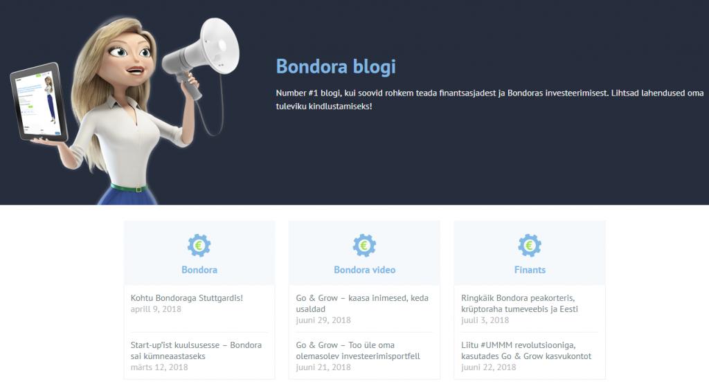 Bondora blogi