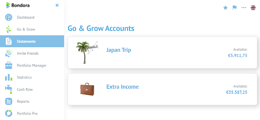 Go and Grow accounts