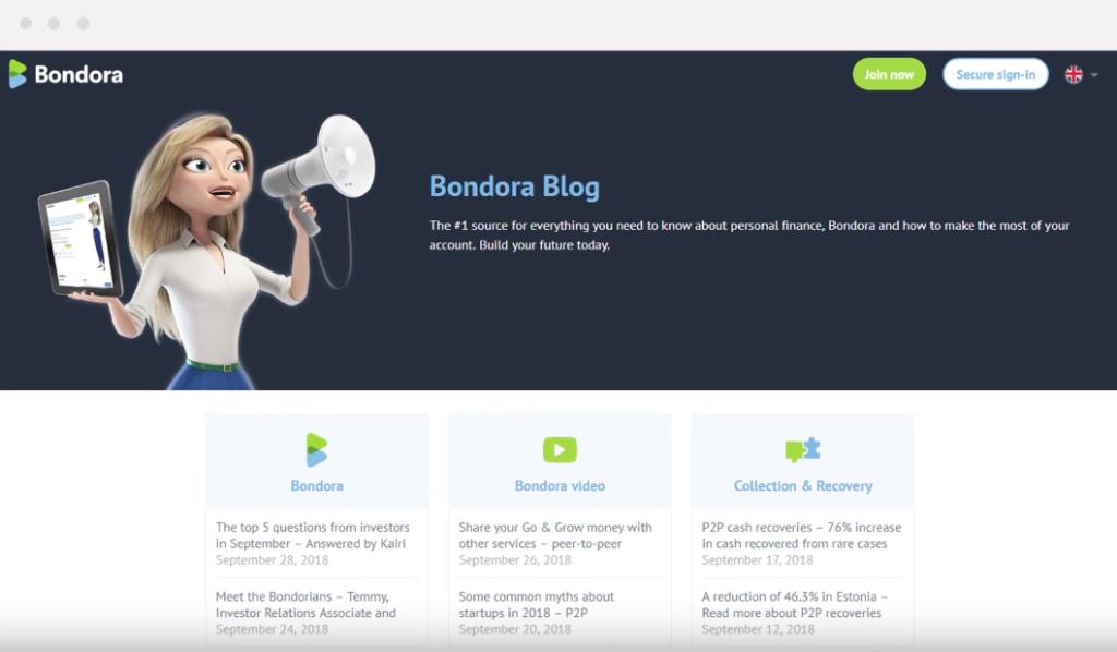 Improved layout - Bondora