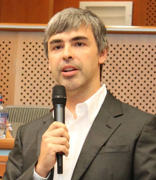 visionary wizards -Larry Page