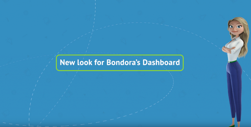 New dashboard look - Bondora