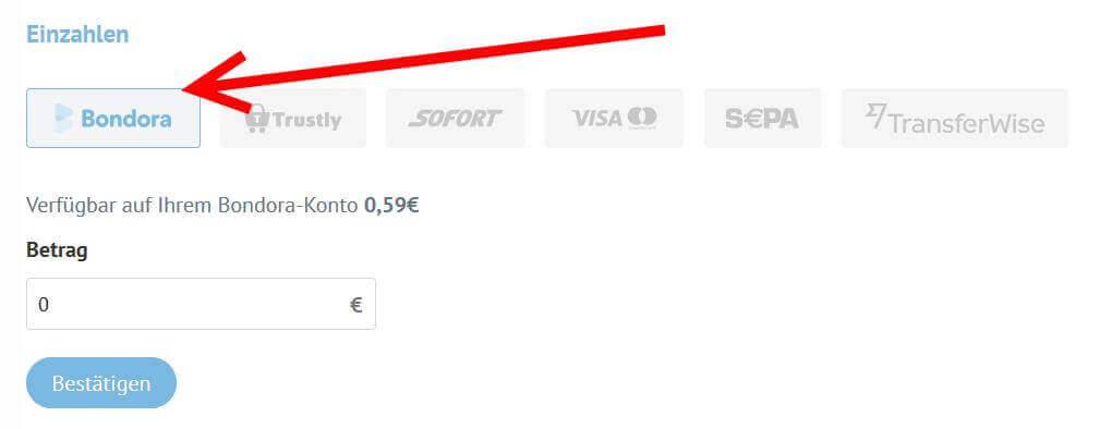 bondora-go-growth-einzahlung