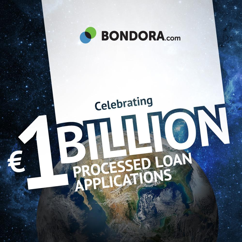1 Bil. processed loan applications