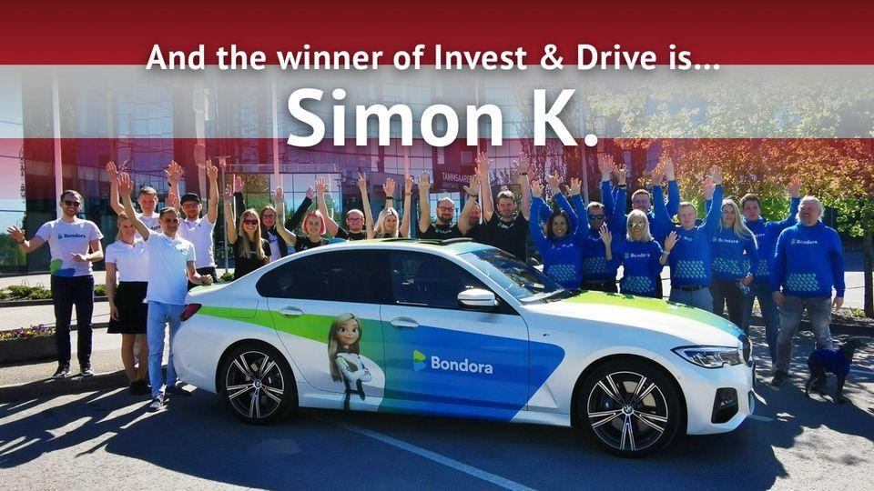 Bondorians were celebrating the announcement of the winner of the Invest & Drive competition.