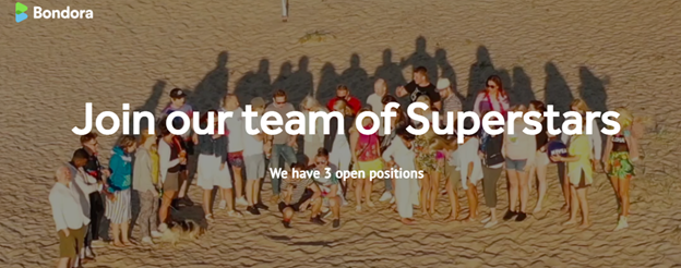 Kommen Sie in unser Superstar-Team!