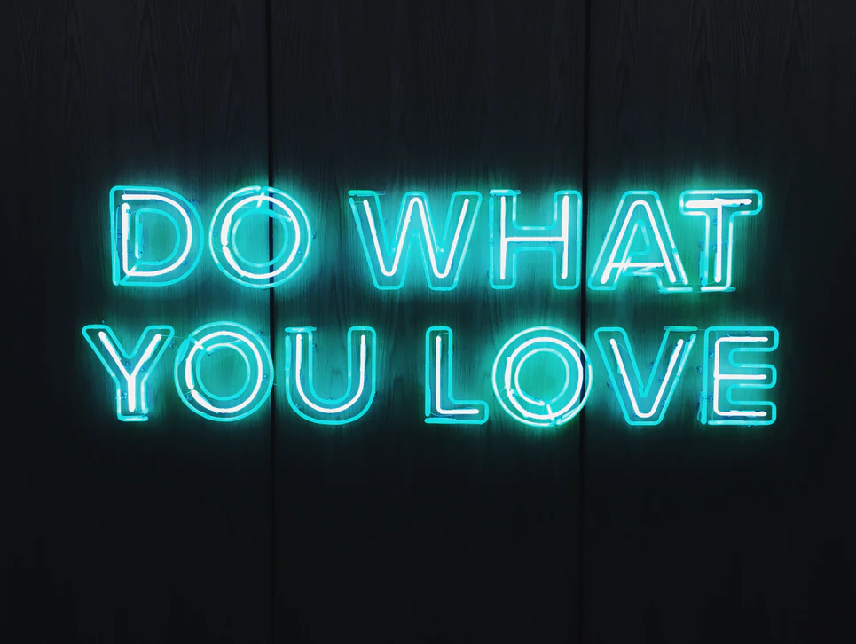 Wenn Sie Spaß an Ihrer Arbeit haben, warum sollten Sie dann aufhören?