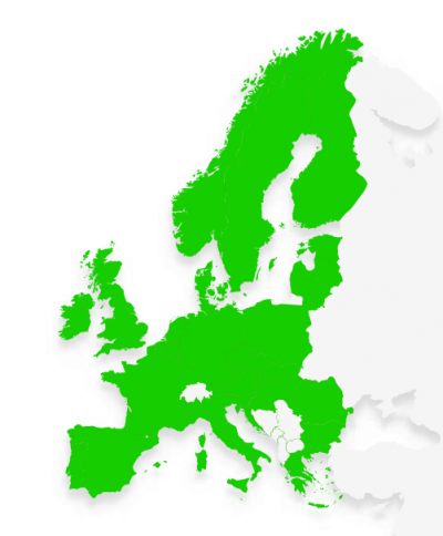Trustly online payment coverage in Europe