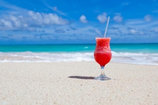 compound interest - vacation beach