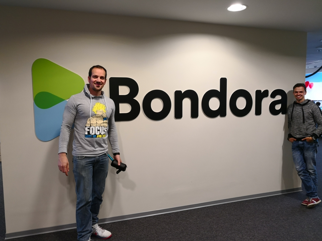 visiting-Bondora-office in Tallinn